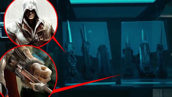 Assassin's creed movie hidden blades