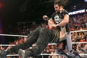Roman Reigns Seth Rollins