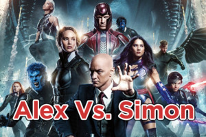 Alex Vs Simon X Men