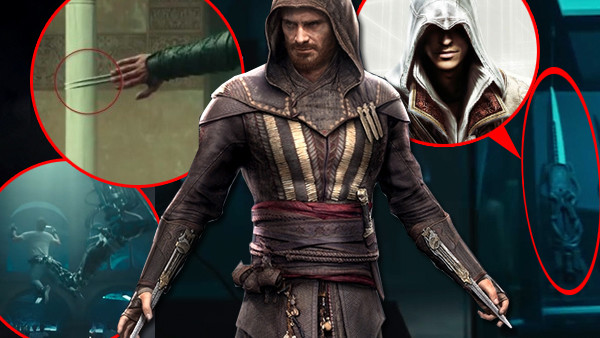 Assassin's creed movie easter eggs