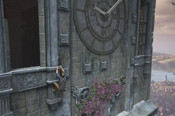 Uncharted 4 Nate Clock Tower