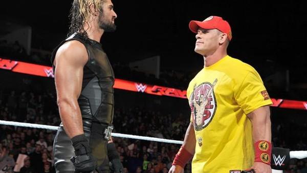 John Cena Seth Rollins