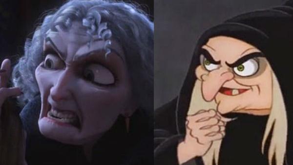 mother gothel evil queen