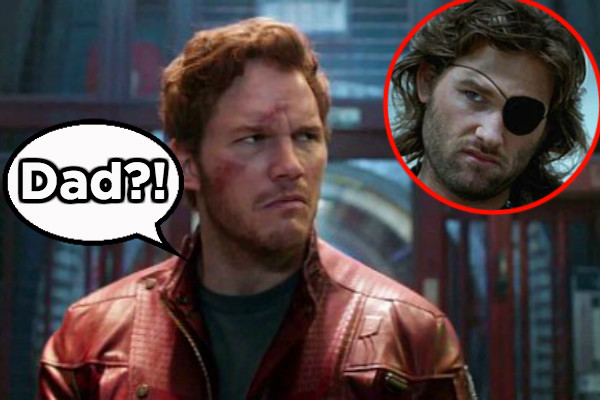 Guardians Of The Galaxy Quill Star-Lord Kurt Russell