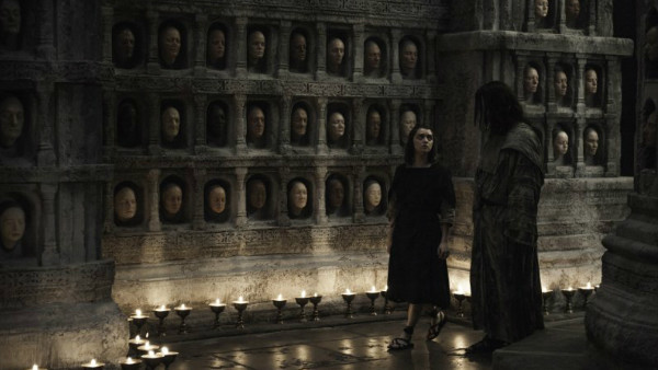 Game Of Thrones Arya Jaqen Faces