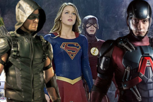 Supergirl Flash Arrow Atom
