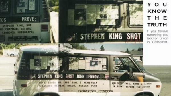 Stephen King Shot John Lennon