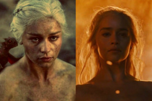 Game of Thrones Daenerys Fire