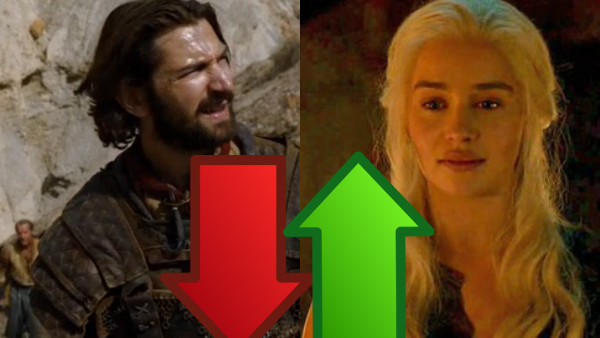 Game of Thrones Daario Daenerys ups downs