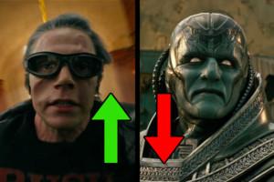 X Men Apocalypse Up Downs