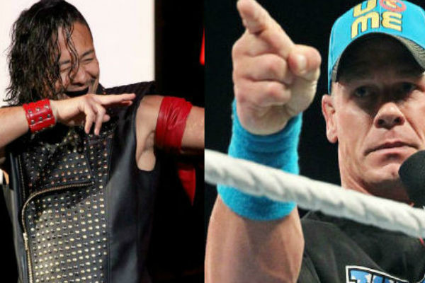 John Cena will face Shinsuke Nakamura at WWE Honolulu