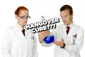 Scientists Bottle Hangover