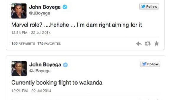 John Boyega Tweets