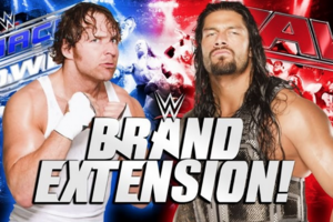 wwe brand extension