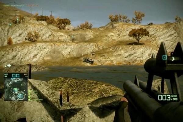 battlefield bad company 2 sniper shotgun