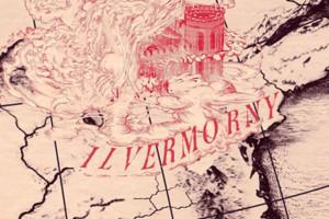 Ilvermorny Map