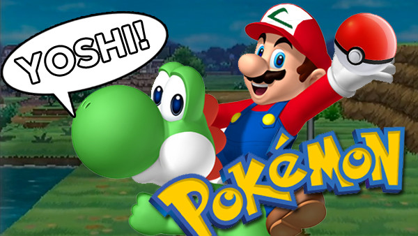super mario pokemon