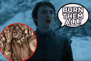 Game of Thrones Bran Mad King