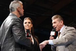 Shane Stephanie Vince McMahon