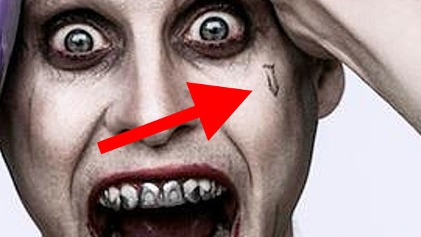 Suicide Squad Decoding All 16 Of Jared Leto S Joker Tattoos