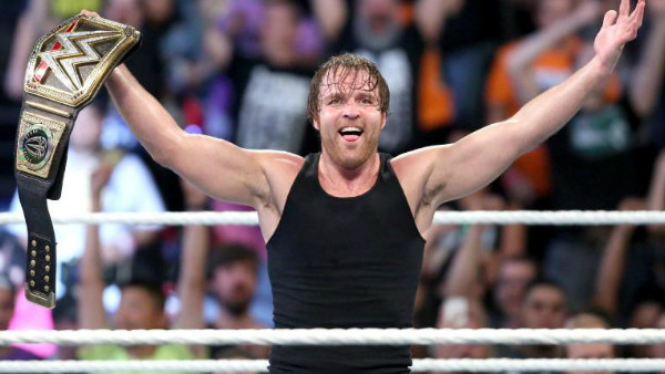 Dean Ambrose WWE Title