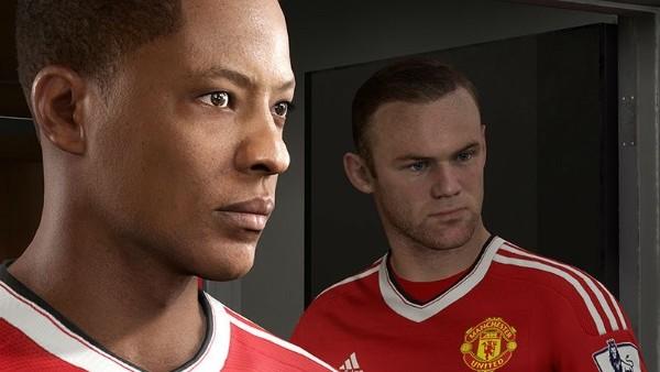 FIFA 17 Alex Hunter Wayne Rooney