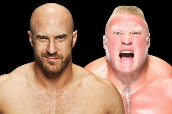 Brock Lesnar Cesaro 2