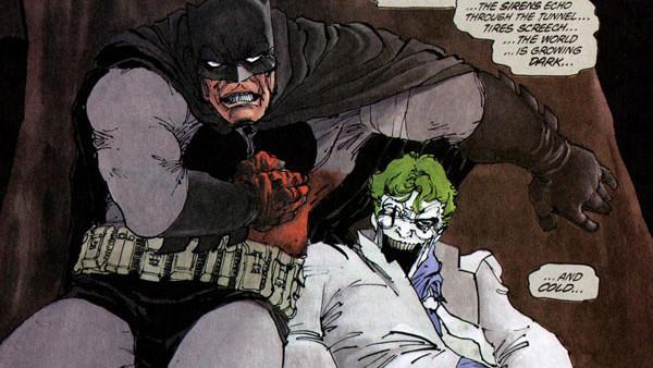 The Dark Knight Returns Batman Stabbed