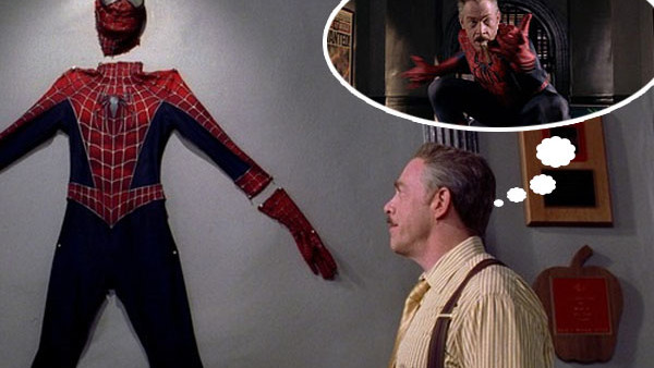 J Jonah Jameson Spider Man Suit
