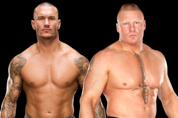 Randy Orton Brock Lesnar