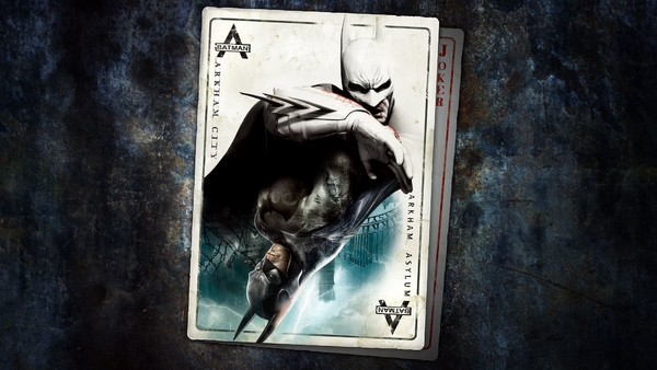 Batman Return To Arkham Cover Art