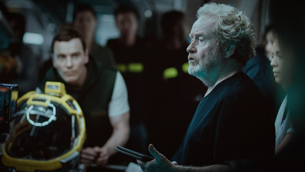 Alien Covenant Ridley Scott Michael Fassbender
