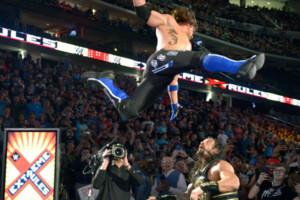 Aj Styles Roman Reigns Jump