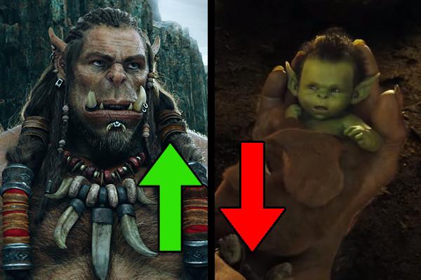Warcraft Ups Downs