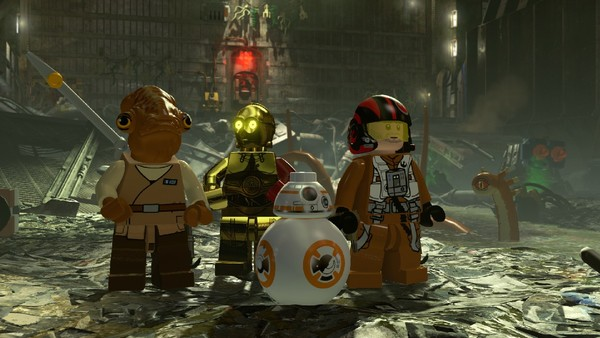 LEGO Star Wars The Force Awakens Compactor