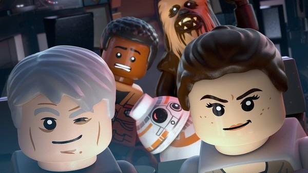 LEGO Star Wars The Force Awakens Selfie