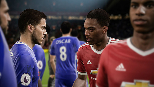 FIFA 17 Hazard And Martial