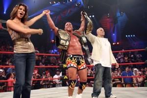 Kurt Angle TNA Champion Hard Justice 2007