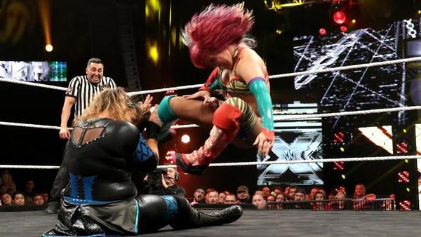 Image result for nxt takeover the end asuka