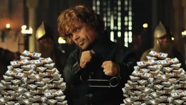 Game of Thrones Tyrion money