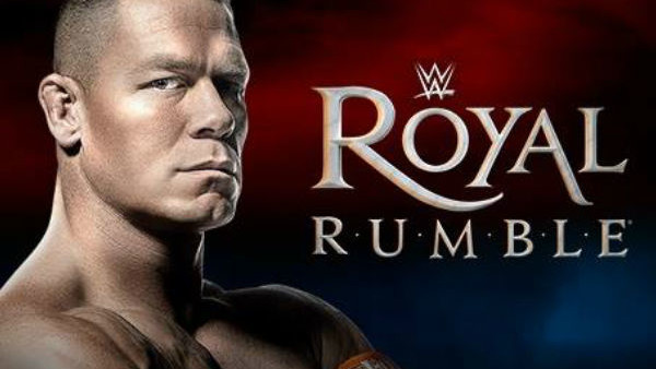 Royal Rumble John Cena Poster