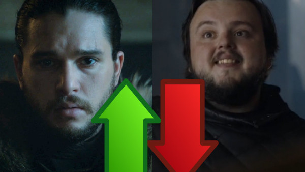 Game of Thrones Jon Sam Ups Downs