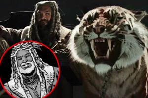 The Walking Dead Ezekiel Shiva