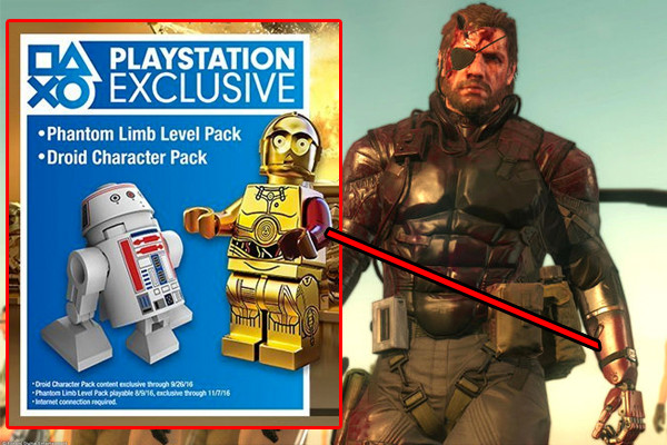metal gear solid lego star wars easter egg
