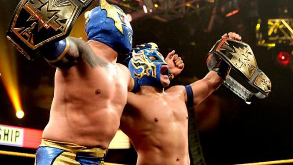Lucha Dragons Sin Cara Kalisto NXT Tag Team Champions
