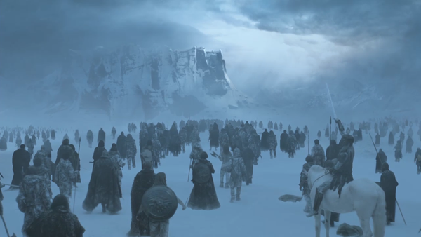 Game Of Thrones White Walkers Army