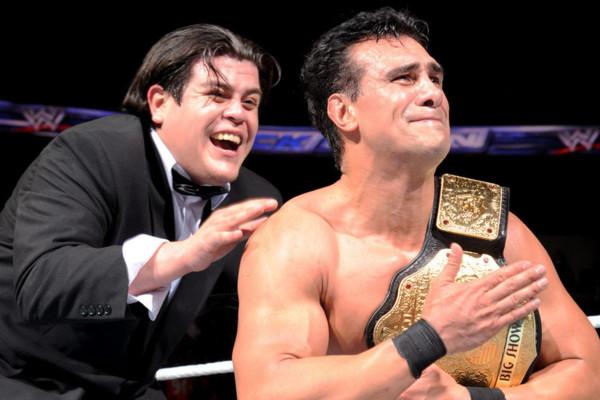 Alberto Del Rio Ricardo Rodriguez babyface Smackdown 2013