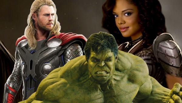 Thor Hulk Valkyrie