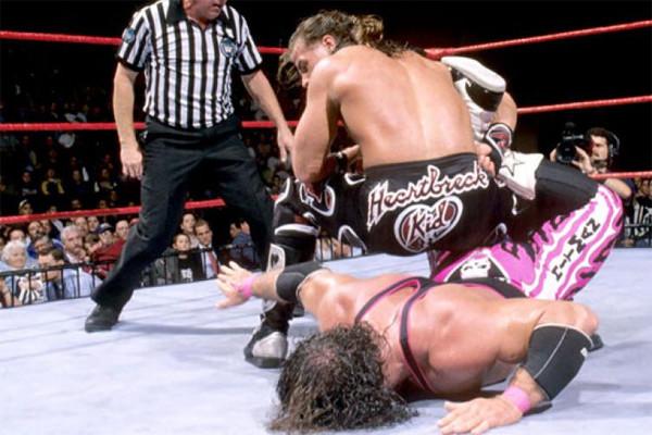 Montreal Screwjob Bret Hart Shawn Michaels