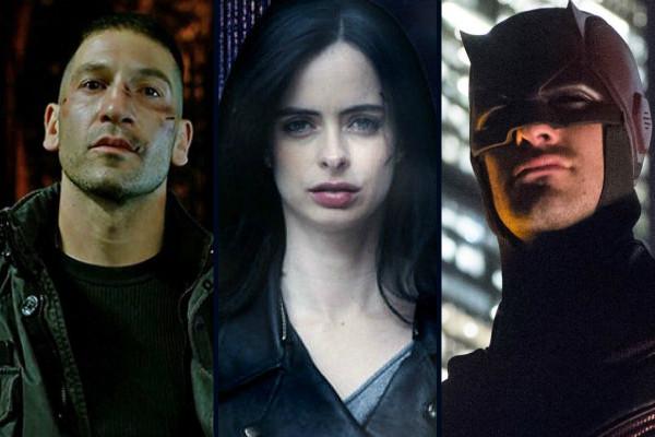 Jessica Jones Punisher Daredevil